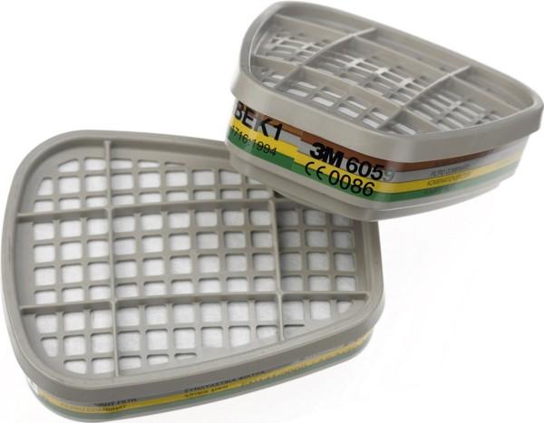ABEK1 Filter 6059, Set á 8 Stk, gegen organische,