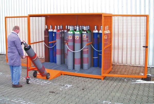 Gasflaschenlager Typ GFL-ZE+ 31/13