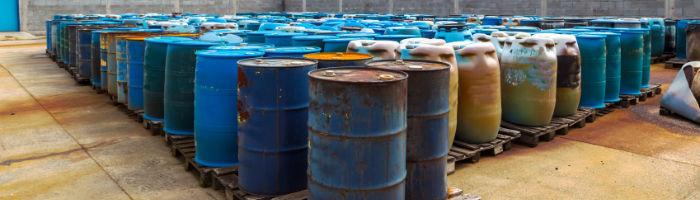 Gefahrstofflagerung in der Industrie