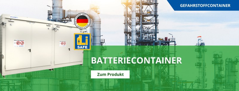 Batteriecontainer von Protecto