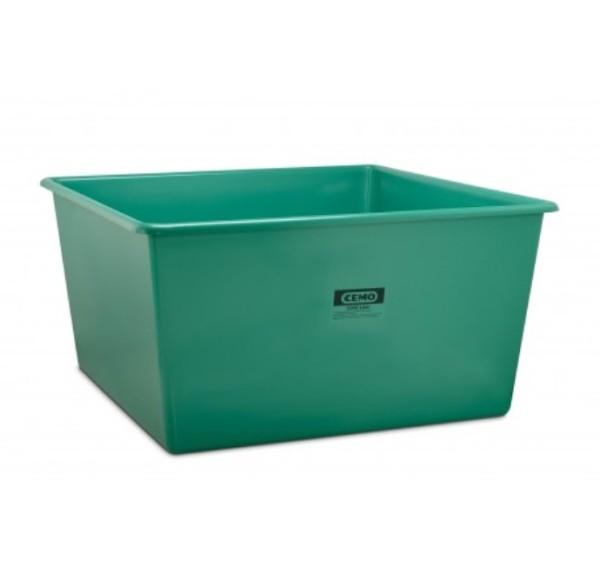 GFK Rechteckbehälter 3300 l grün