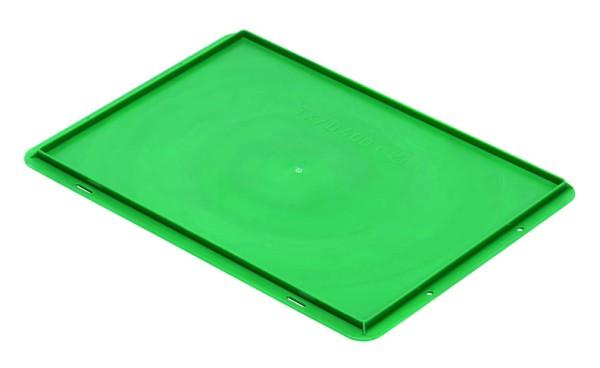 Auflagedeckel TK/D 400 A, grün aus Polypropylen