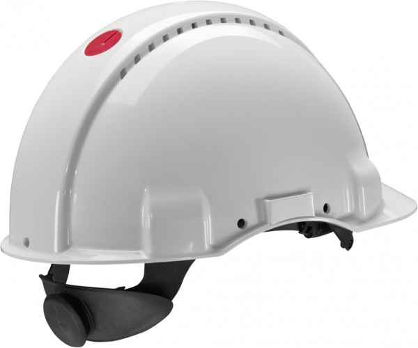 Schutzhelm G3000N weiß mit Lampenhalterung