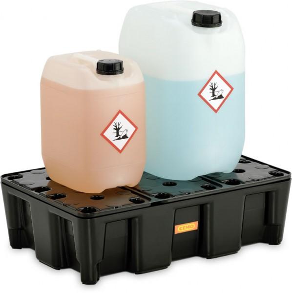 Auffangwanne PE 25HD aus Kunststoff PEHD für wassergefährdende Flüssigkeiten