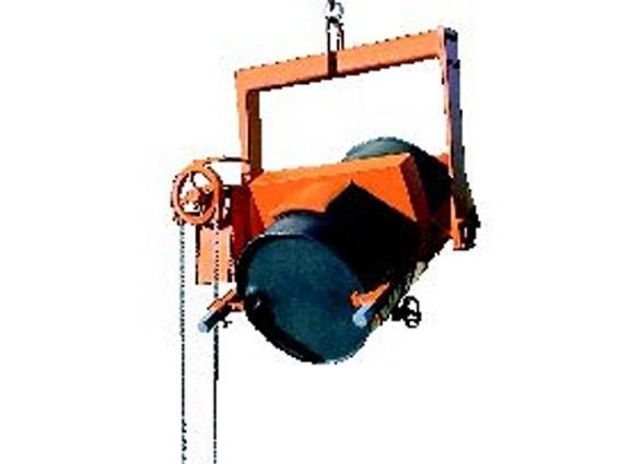 Schwerlast-Kipptraverse 1200 kg mit Haspelkette