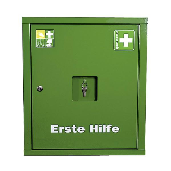 Verbandschrank EUROSAFE Industrie Norm Plus grün