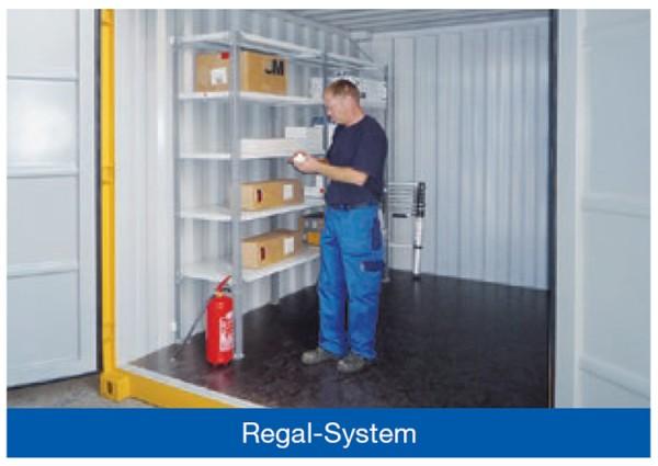 Regalsystem mit 3 Regalböden