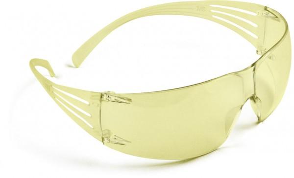 Schutzbrille Secure Fit 200 AS, AF, UV, PC, gelb