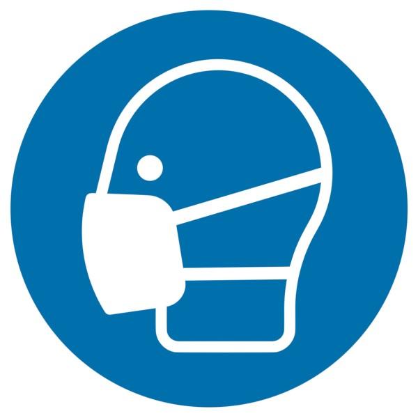 Sicherheitskennzeichnung Gebotszeichen