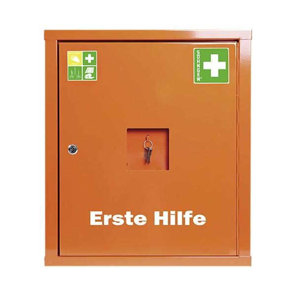 Verbandschrank EUROSAFE Industrie Norm Plus orange