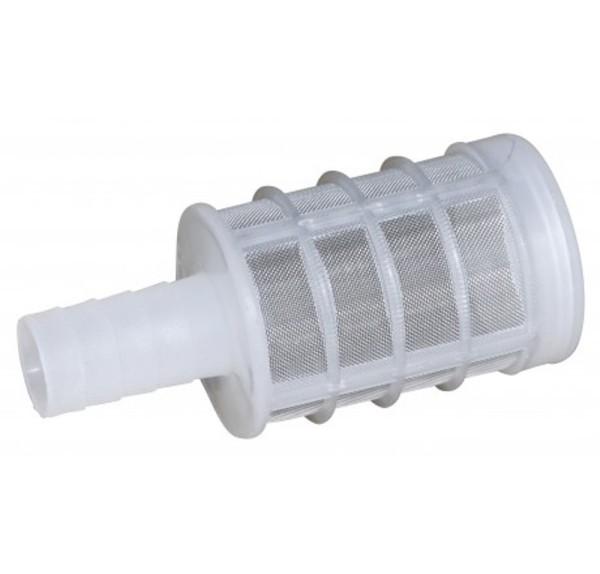 Fußfilter aus Kunststoff
