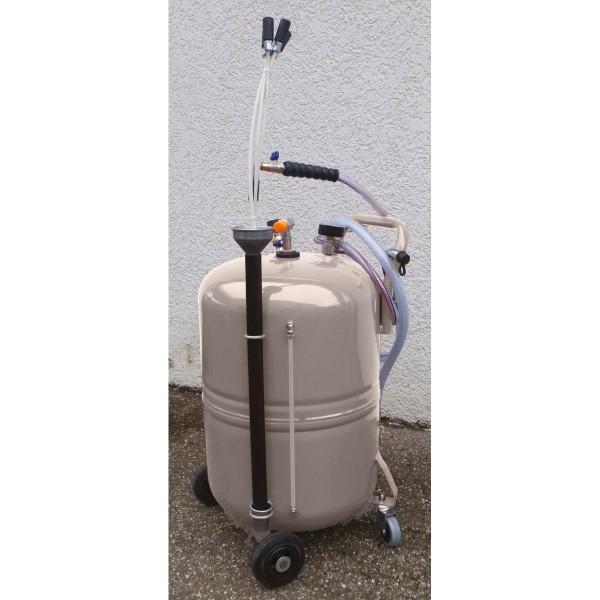 Mobiles Ölabsauggerät 80l pneumatisch
