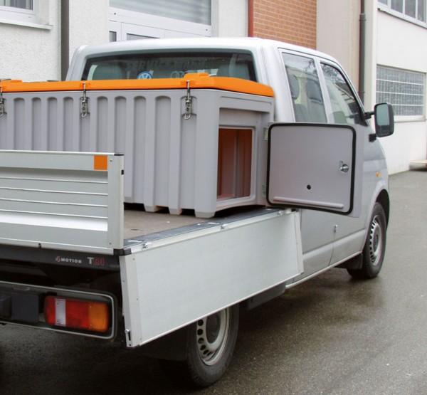 CEMbox 750 l grau/orange