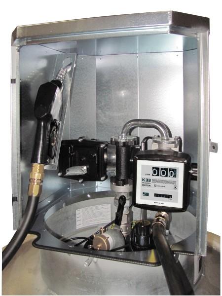 Elektropumpe 40 l/min, 12 V, ATEX, Zähler K33