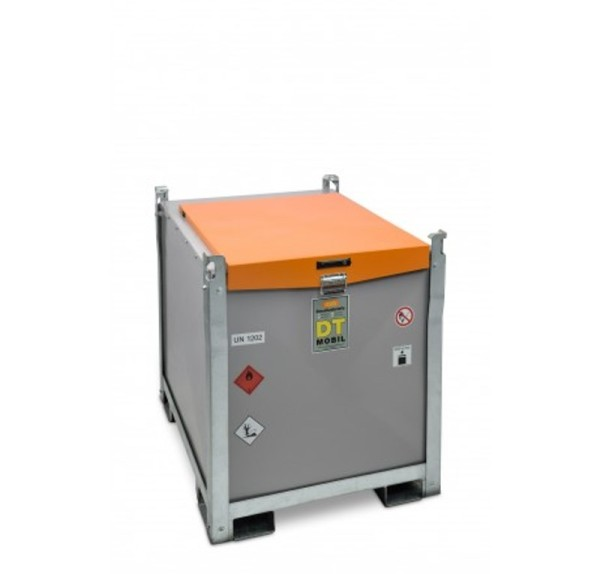 Mobile Dieseltankanlage mit Elektropumpe 12V