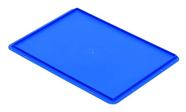 Auflagedeckel TK/D 400 A, blau aus Polypropylen