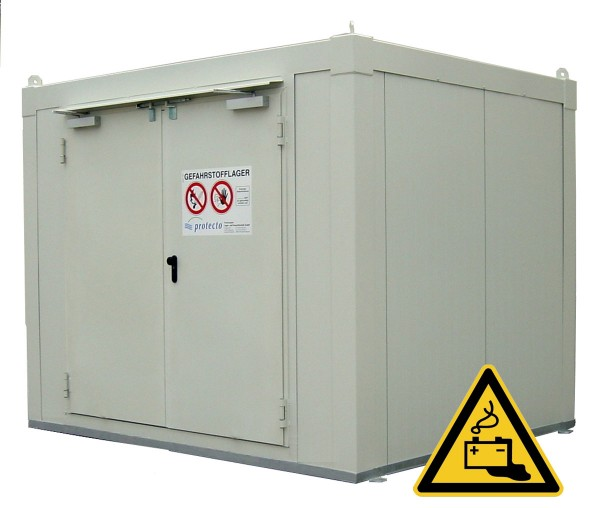 Li-SAFE Lager für Lithiumbatterien