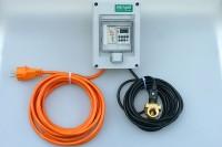 Hygiene Automatik für Notduscheneinrichtungen