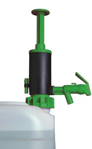 Abfüll und Transferpumpe JP-07 grün für Säuren