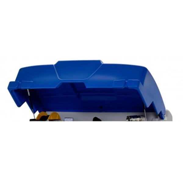 Klappdeckel blau für CUBE-Tankanlage für AdBlue