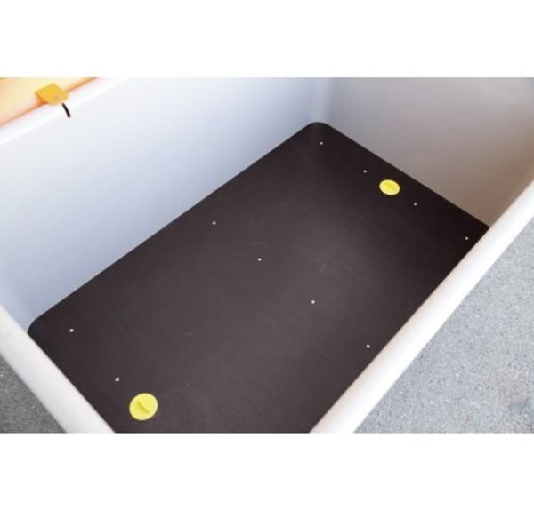 Einlegeplatte für Rechteckbehälter 200 l hoch