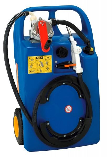 Trolley 60l für AdBlue mit Kurbelpumpe