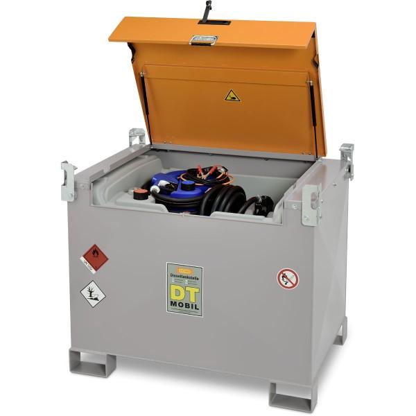 Mobile Dieseltankanlage mit Elektropumpe 24V