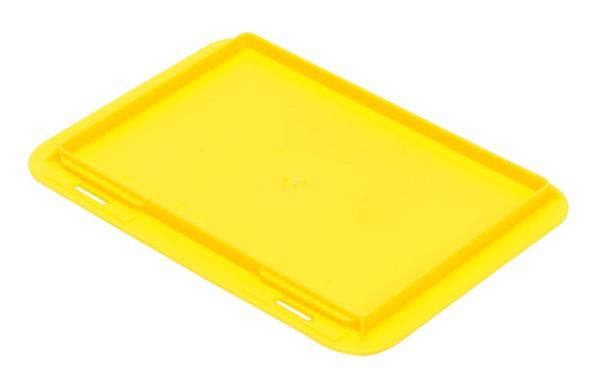 Auflagedeckel TK/200 A, gelb aus Polypropylen