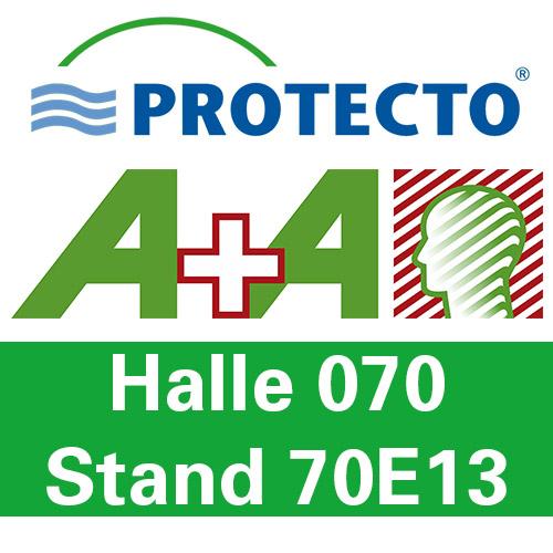 Protecto auf der Messe A+A Düsseldorf 2019