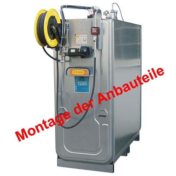 Komplett-Montage der SchmierstoffKompaktanlage ECO