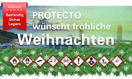 PROTECTO wünscht fröhliche Weihnachten