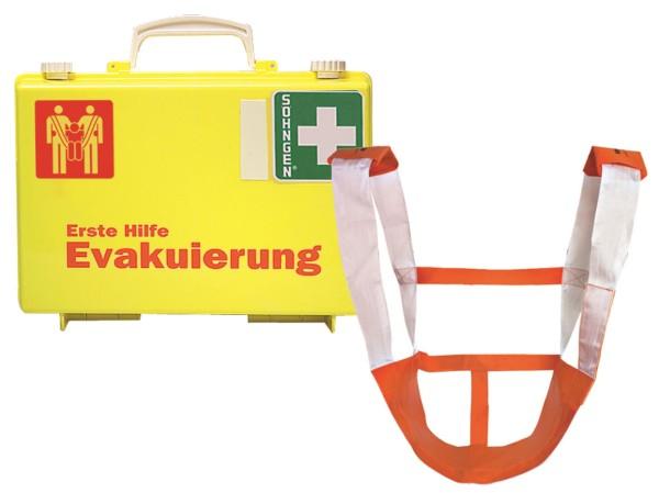 Erste-Hilfe-Koffer Evakuierung SN-CD gelb