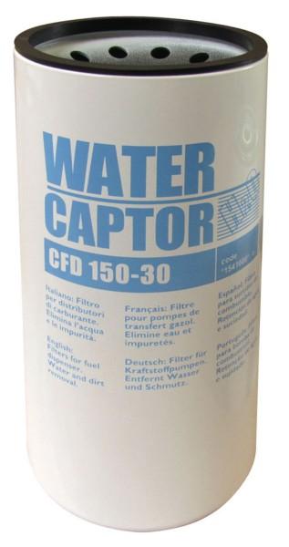 Filter-Kartusche mit Wasserabscheider