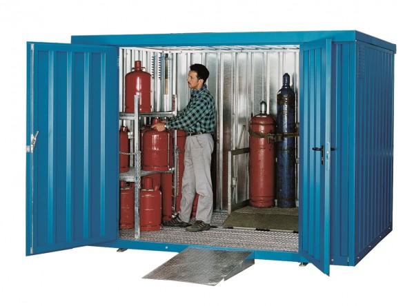 Gasflaschencontainer Typ GFL-C 2