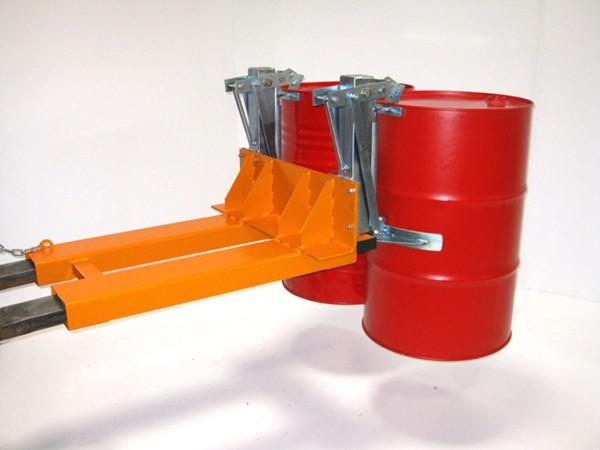 Fassgreifer Typ Greiffix FAS-80 H-2 für 2 Fässer