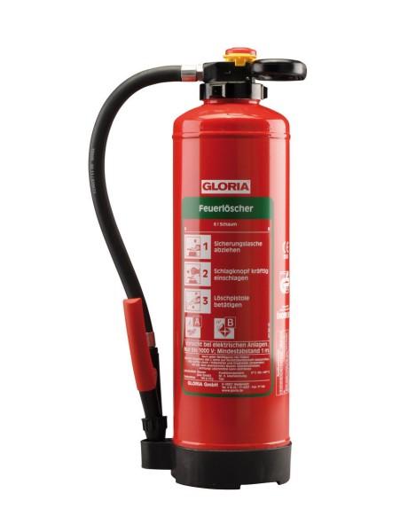 Schaum-Aufladefeuerlöscher SH6Pro