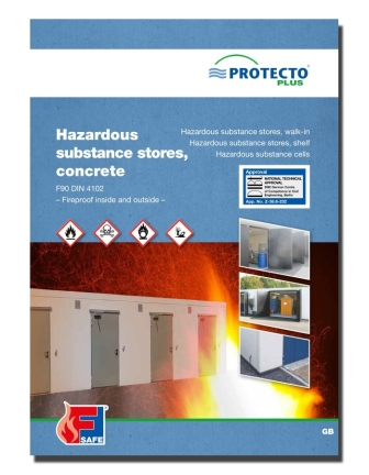 Protecto Hazardous substance stores BLB