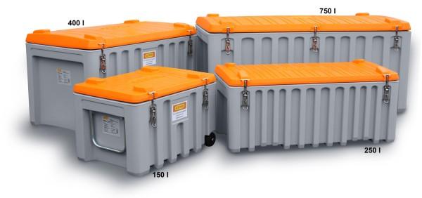 CEMbox 250 l grau/orange