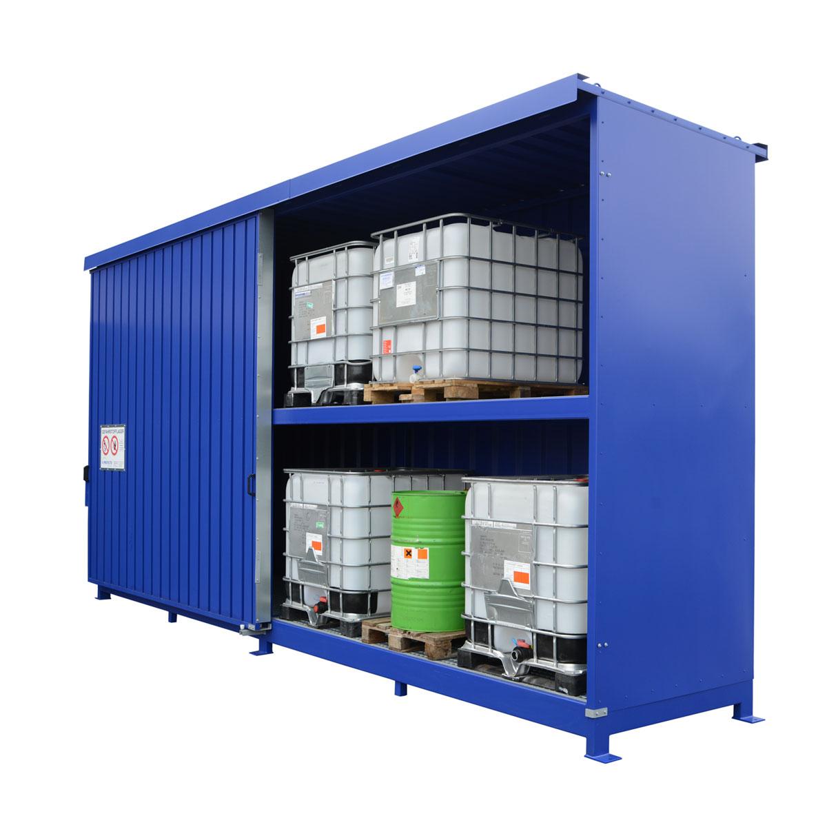 W-SAFE – Produkte für die sichere Lagerung von wassergefährdenden Stoffen