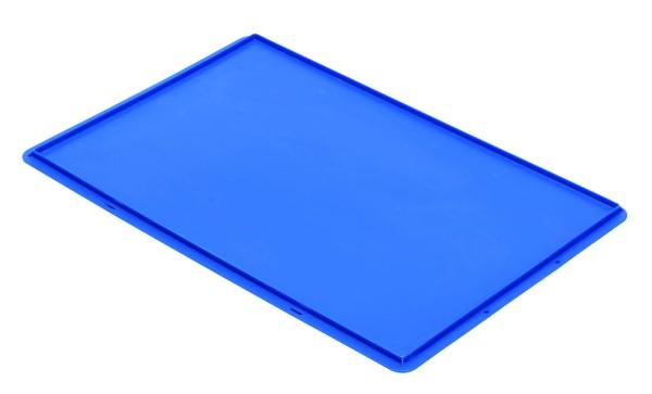 Auflagedeckel TK/D 600 A, blau aus Polypropylen