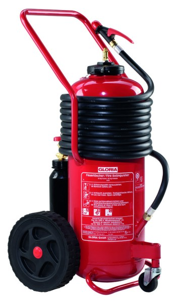 Fahrbarer Aufladefeuerlöscher P50G5