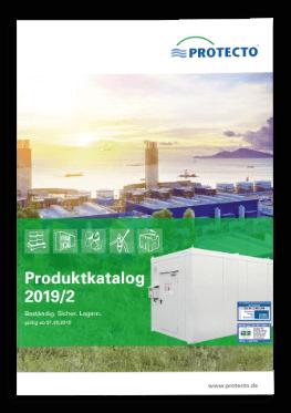 der aktuelle PROTECTO Katalog Gefahrstofflagerung