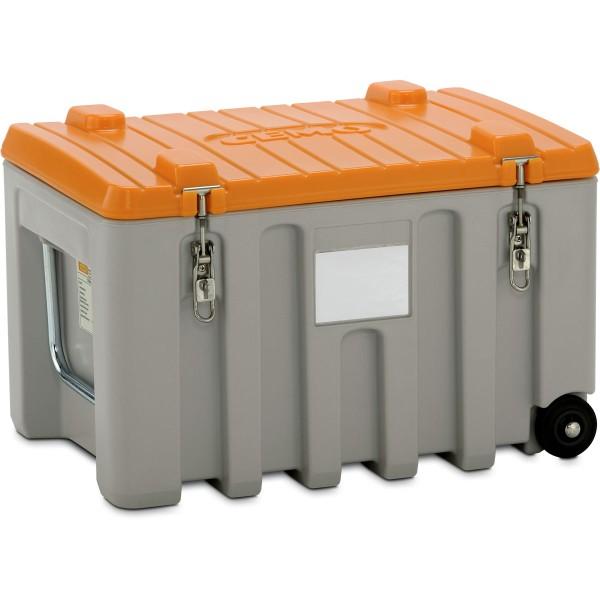 CEMbox 150 l grau/orange mobil