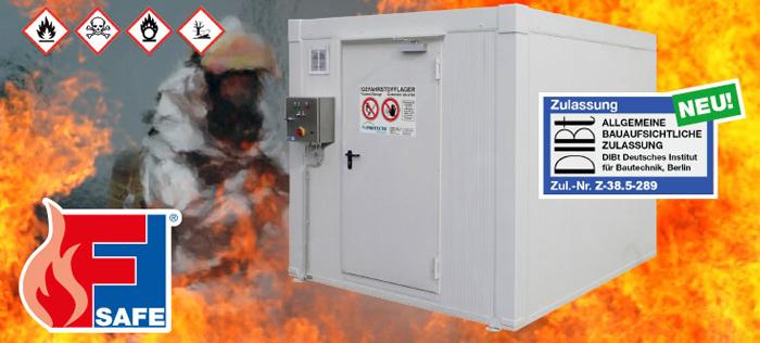 Warum eigentlich eine neue DIBt-Zulassung für Brandschutzcontainer aus Stahl?