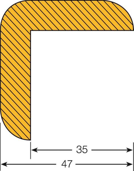 Prallschutz Kantenschutz Winkel 47/47