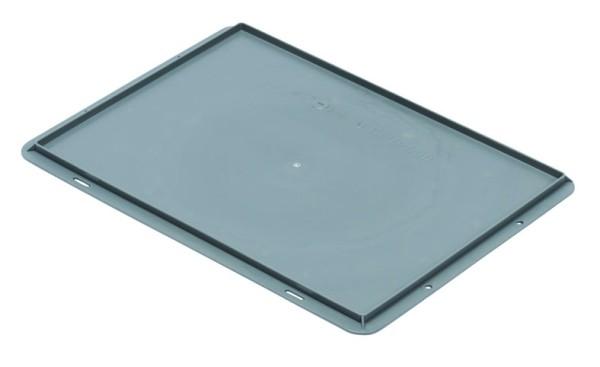 Auflagedeckel TK/D 400 A, grau aus Polypropylen