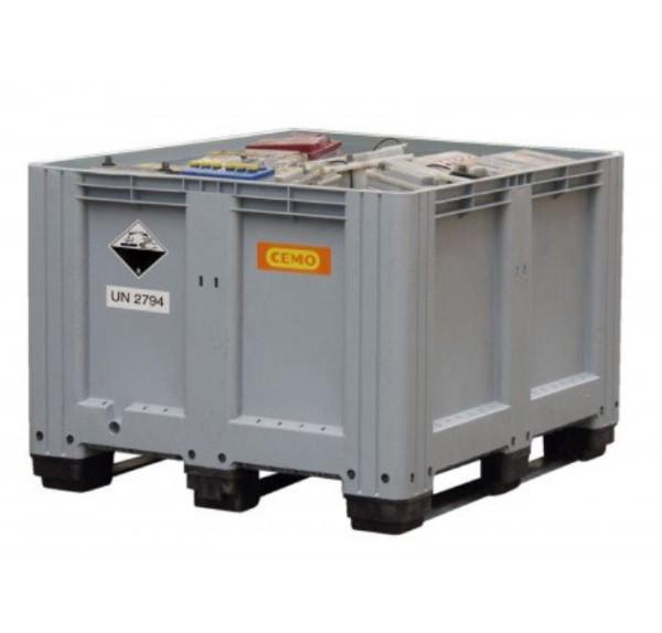 Sammelbehälter 610 l Altbatterien