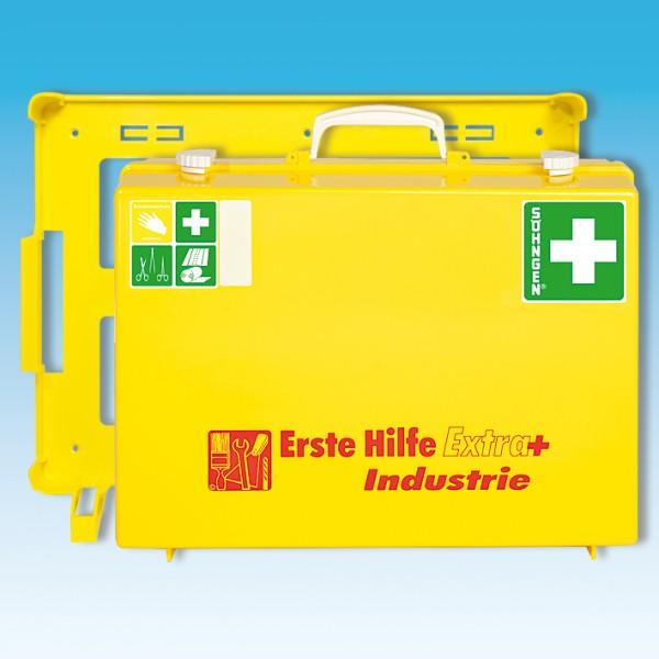 Erste-Hilfe-Koffer EXTRA+ MT-CD gelb plus