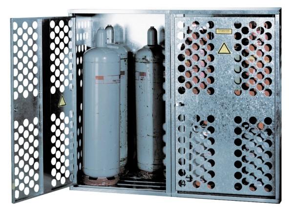 Gasflaschendepot Typ GFL-D 2 mit 1 Zwischenboden