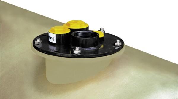 Domdeckel für Frischöl-Lagertank